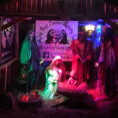The Zombie Nativity: Where Da Shepherds?