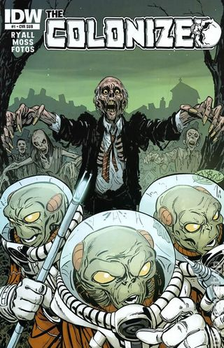 Comic Book Review The Colonized 1 A Tale Of Zombies Vs