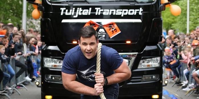 Vrachtwagen trekken