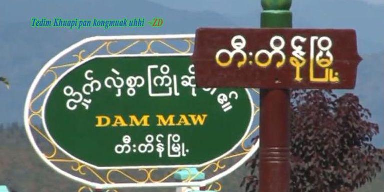 Tedim khua Hanmun Thak Vaai