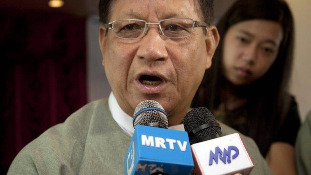 Tin Aye ~ Chairman of Myanmar Union Election Commission