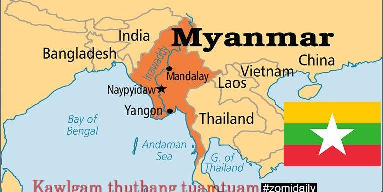 Malaysia pan CI atuh tawh Myanmar aciahte kilutsak loding ci'n Embassy te'n gen