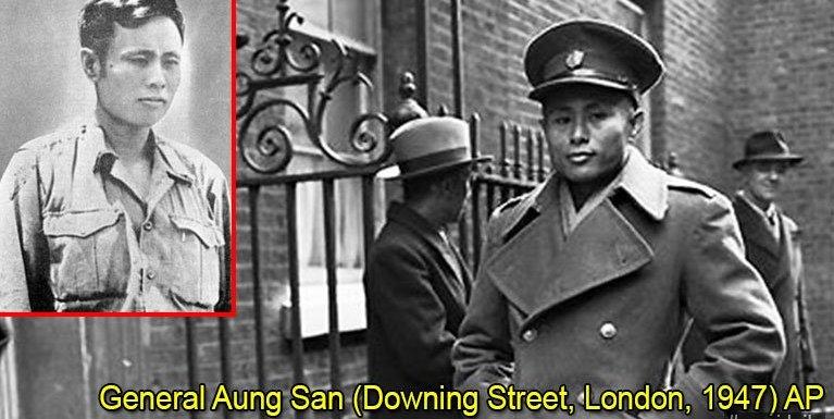 General Aung San leh Deng Xiao Ping te hong lak makaihzia ~ Khup Lian Thang