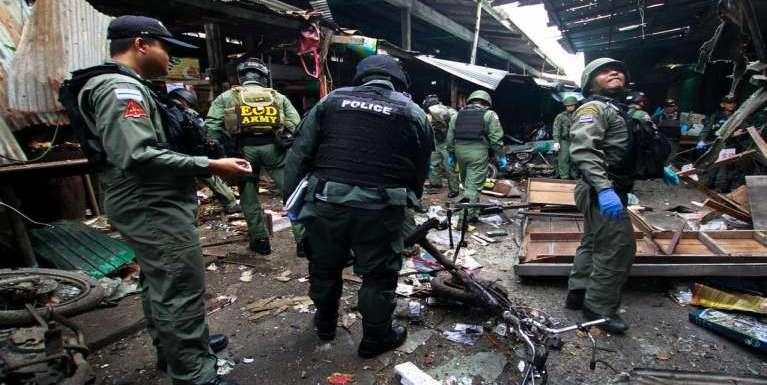Thai gamsung Voksa zuakna gei ah Bomb puakkham, mi 3 sipah, 22 liam