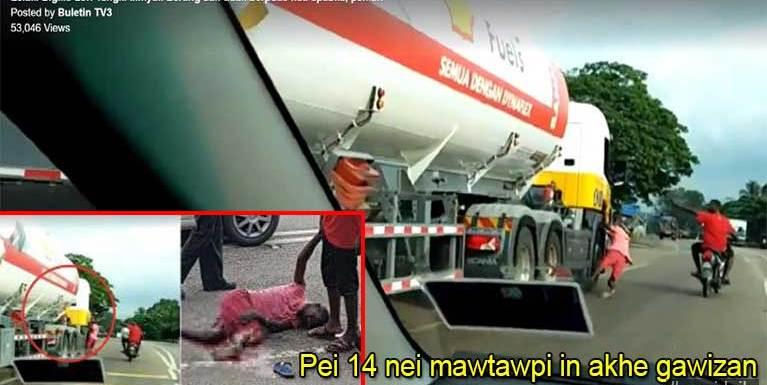 Video: Datsi puakna Oil Tanker mawtawpi khatin mikhat gawikha