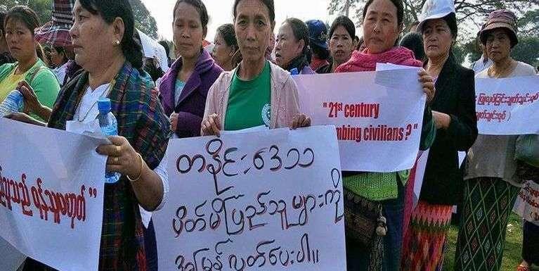 Galkidona akhawl nadingin Kachin, Myikyina khuasung ah mi 5000 in lungphona nei
