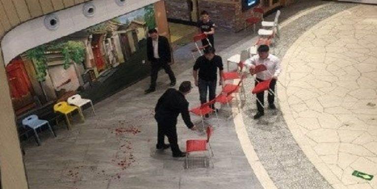 China, Beijing aom Shopping Mall sungah temtawh mi 1 kidawtlum, adang mi 12 liam