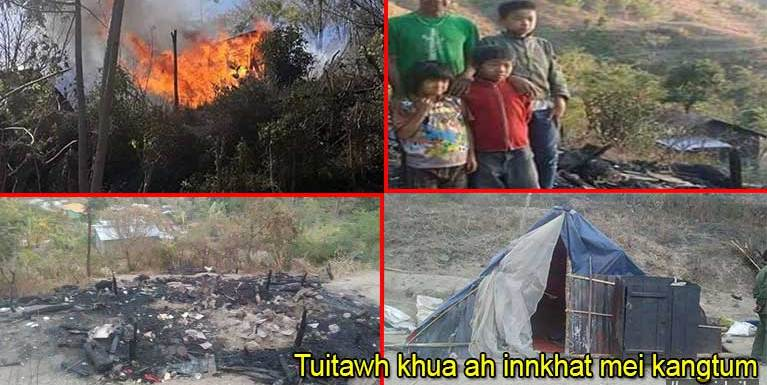 Tuitawh Khua ah Innkang vai & ZYA News tuamtuam