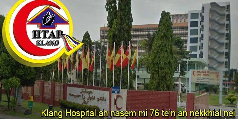 Klang Hospital ah siavuan leh zato nasem akigawm in mi 76 te'n an nekhial, Food Poisoning