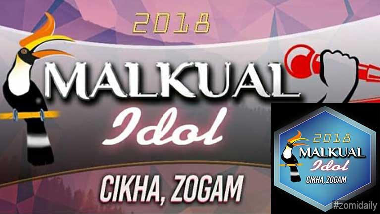 Cikha khua ah Malkual Idol 2018 ah kibawlding