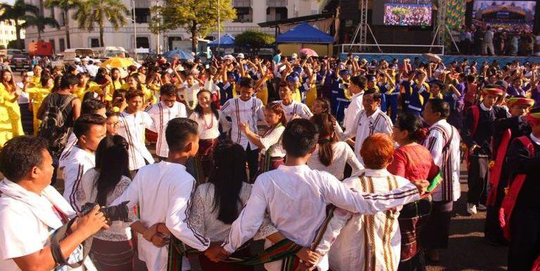 Video: Yangon khuapi City Hall maiah Siamsin te lamna