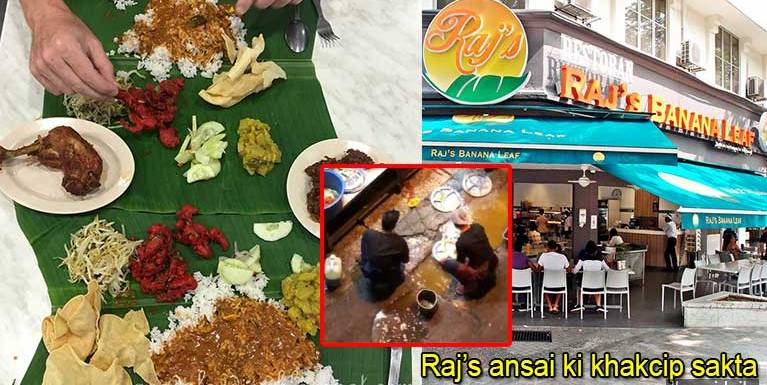 Update: Akihhuai gamtat Raj's Banana Leaf ansai ki khakcipsuak sakta