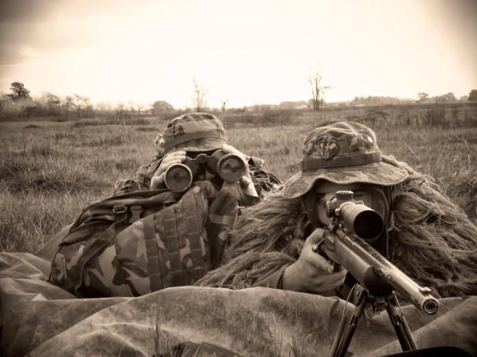 Equipo de tiradores especiales pertenecientes al Ejército Argentino. Imagen: Ejército Argentino.