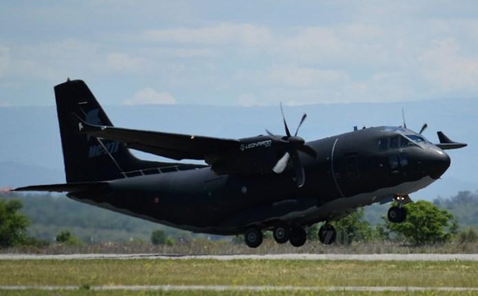 C-27J Spartan partiendo desde la EAM rumbo a Buenos Aires. Imagen: Zona-Militar.