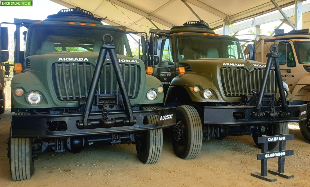 camiones tácticos