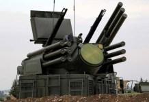 Rusia entrega sistema Pantsir a Serbia
