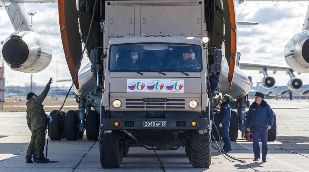 Rusia envía convoy de ayuda