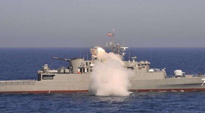 fragata iraní
