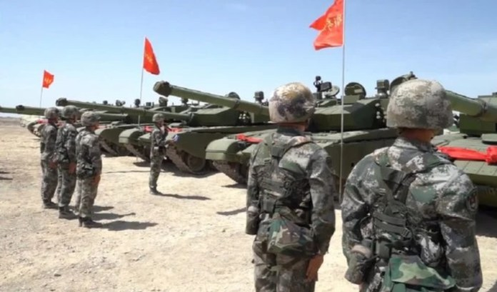 tanque chino