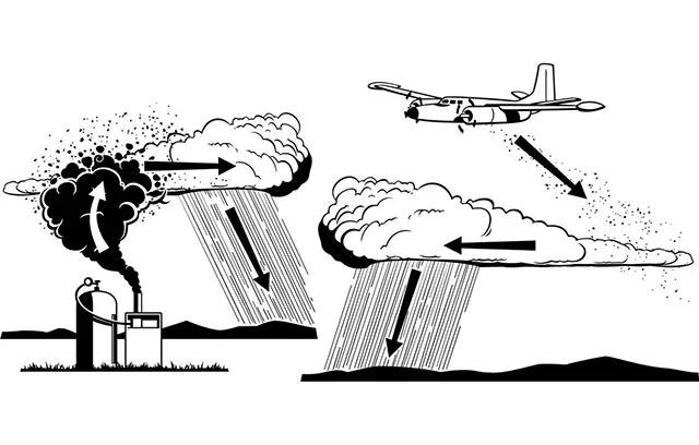 """Se adapta un KIng Air de la FAM  para """"Bombardear"""" nubes. La FAM con una nueva misión: sembrar nubes para combatir la sequía. Sequia-aviones-de-la-fuerza-aerea-bombardearan-nubes-para-que-llueva-1"""