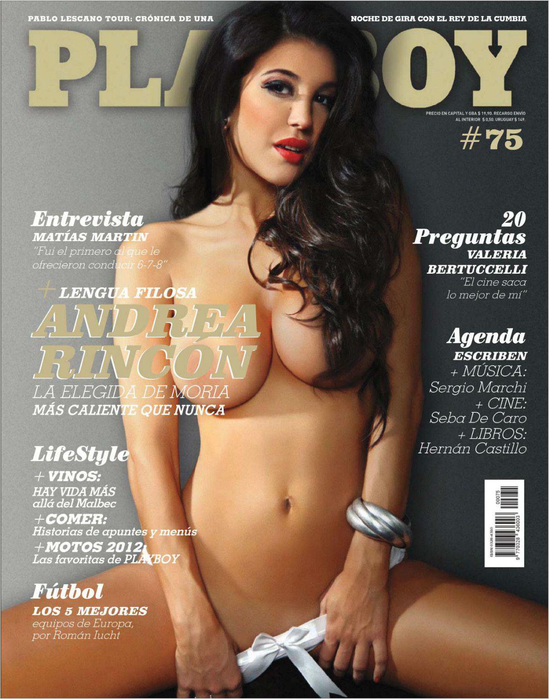 Andrea Rincon Dsnuda andrea rincon playboy argentina marzo 2012