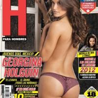 Georgina Holguin Revista H para Hombres Agosto 2012
