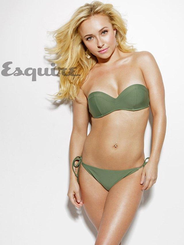 Hayden Panettiere en Bikini para Esquire Magazine Enero 2013 (4)
