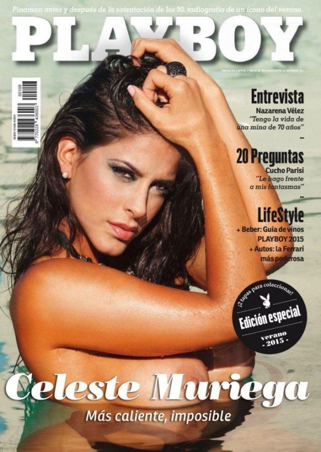 Celeste Muriega en la Revista Playboy de Enero 2015 zonabase (1)