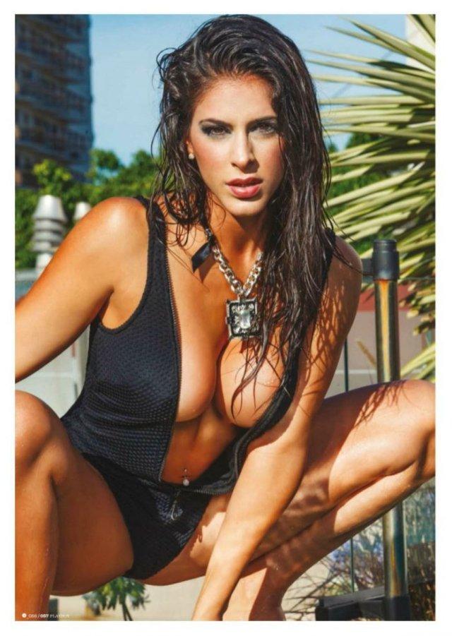 Celeste Muriega en la Revista Playboy de Enero 2015 zonabase (9)