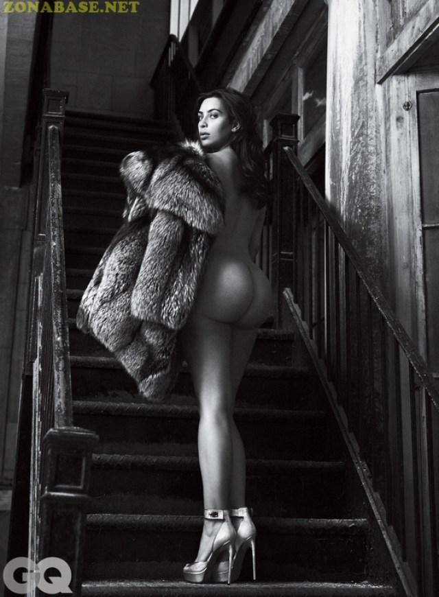 Kim Kardashian – Naked for GQ Magazine, June 2016 (8)