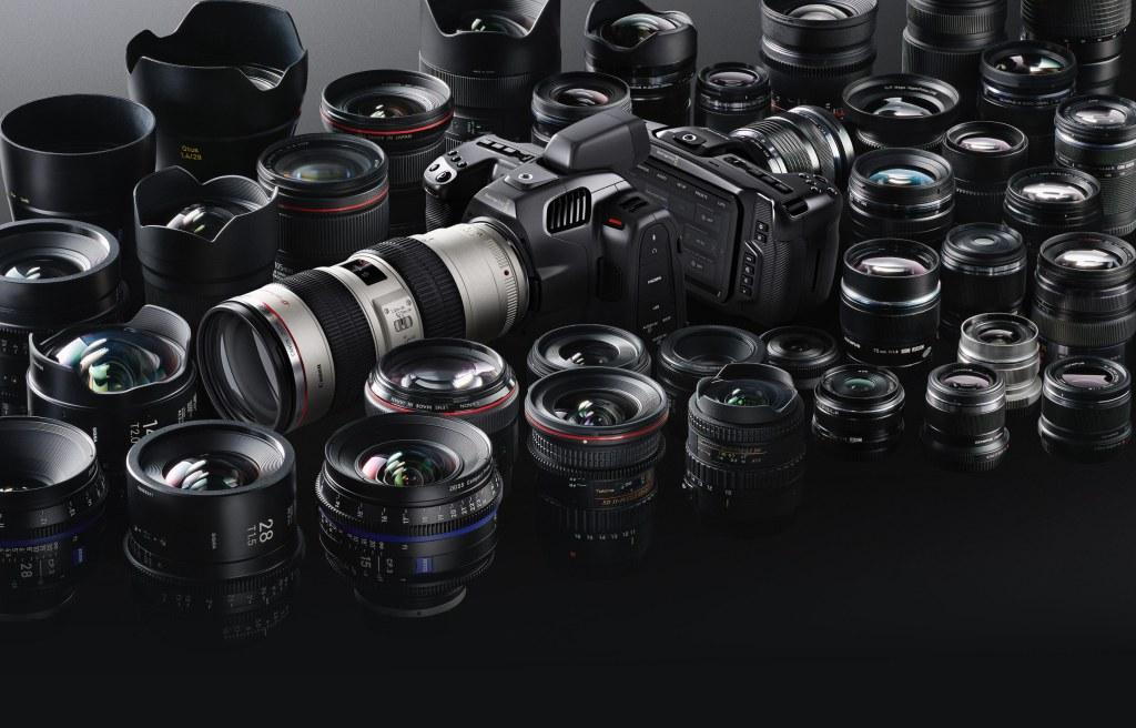 Los MEJORES OBJETIVOS para BLACKMAGIC Pocket Cinema Camera 6K y 6K PRO