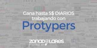 PROTYPERS: Gana hasta 5$ DIARIOS resolviendo Captcha