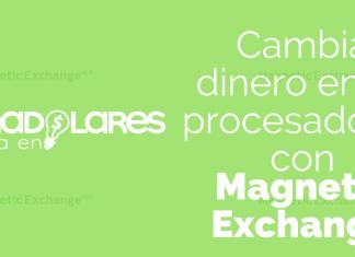 ¿Cómo cambiar dinero entre procesadores con Magnetic Exchange?