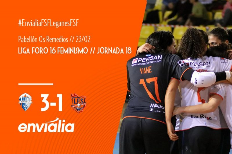 Emisión en Diferido: Ourense Envialia FSF - CD Leganés FS. Jornada 18