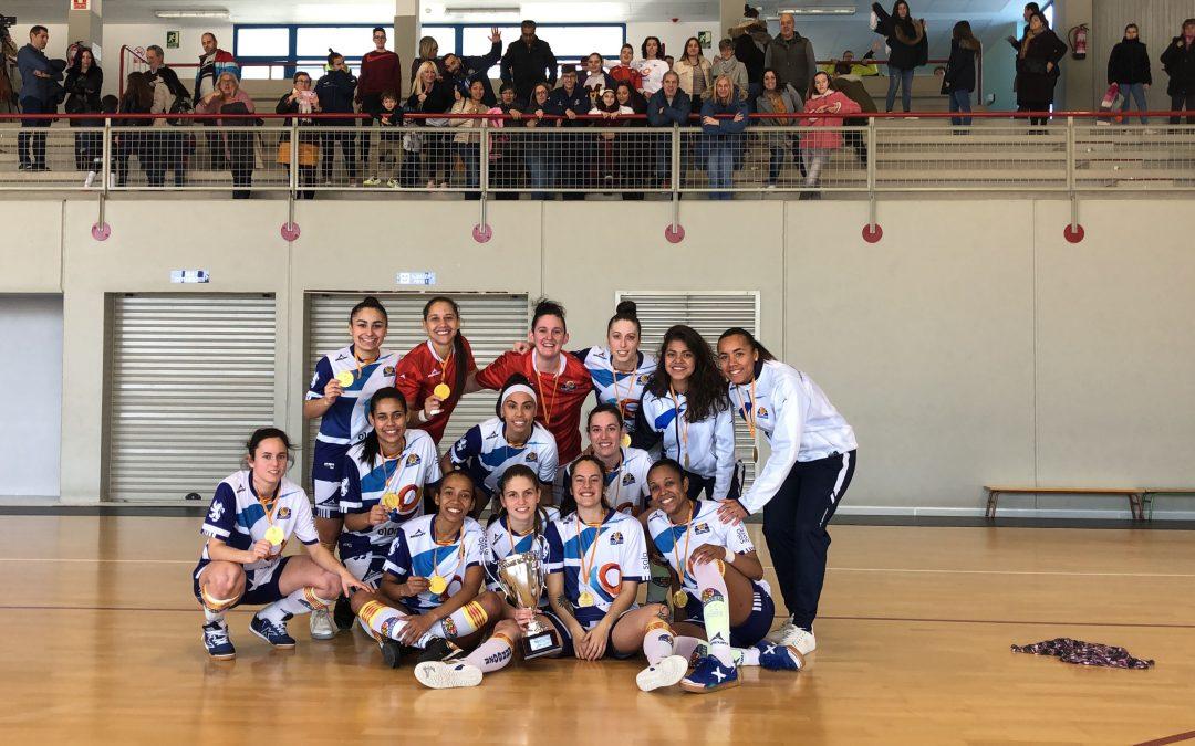 Sala Zaragoza campeón de la VII Copa Gobierno de Aragón