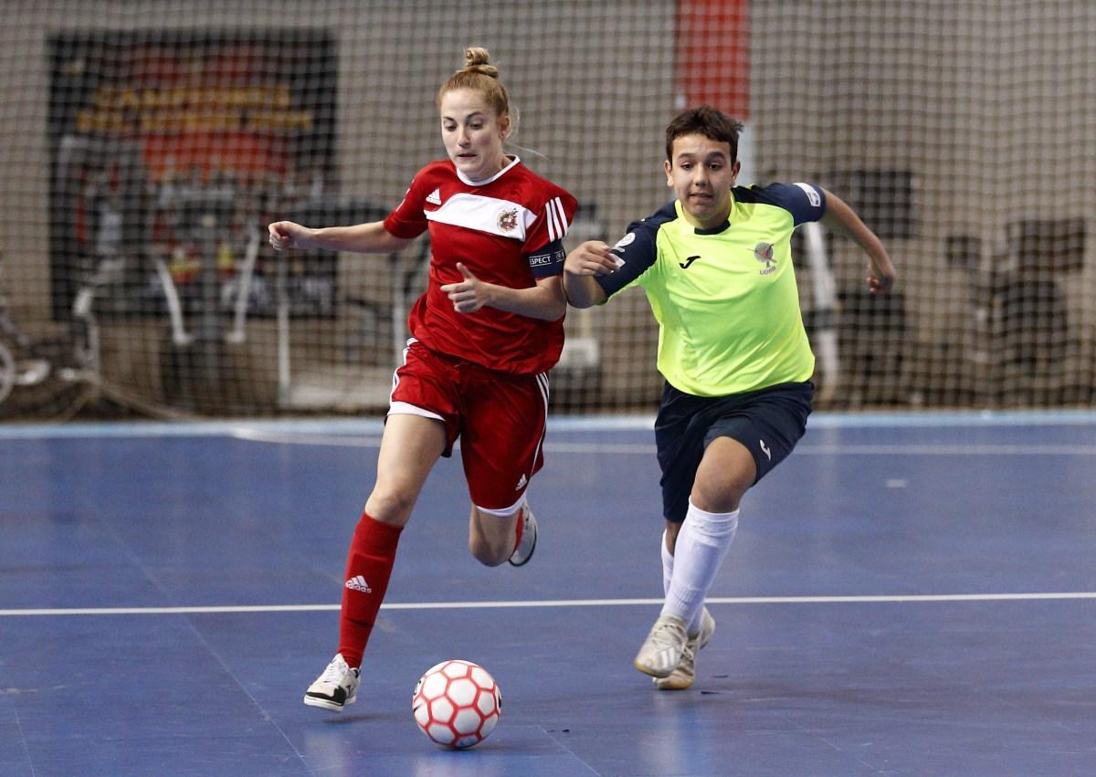 La Selección de Fútbol Sala Femenino vence en un nuevo amistoso de preparación para el Europeo