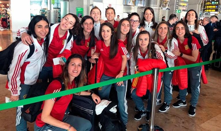 La Selección Española Femenina de Fútbol Sala camino de Portugal