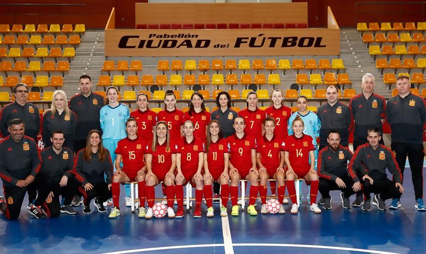 Media Day de la Selección Española de Fútbol Sala Femenino previo al Europeo