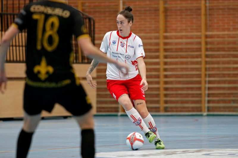 """Laura Uña (Jugadora de CD Leganés FS): """"A día de hoy ya me siento con confianza y estoy consiguiendo llegar ese nivel del que no me puedo permitir bajar."""""""