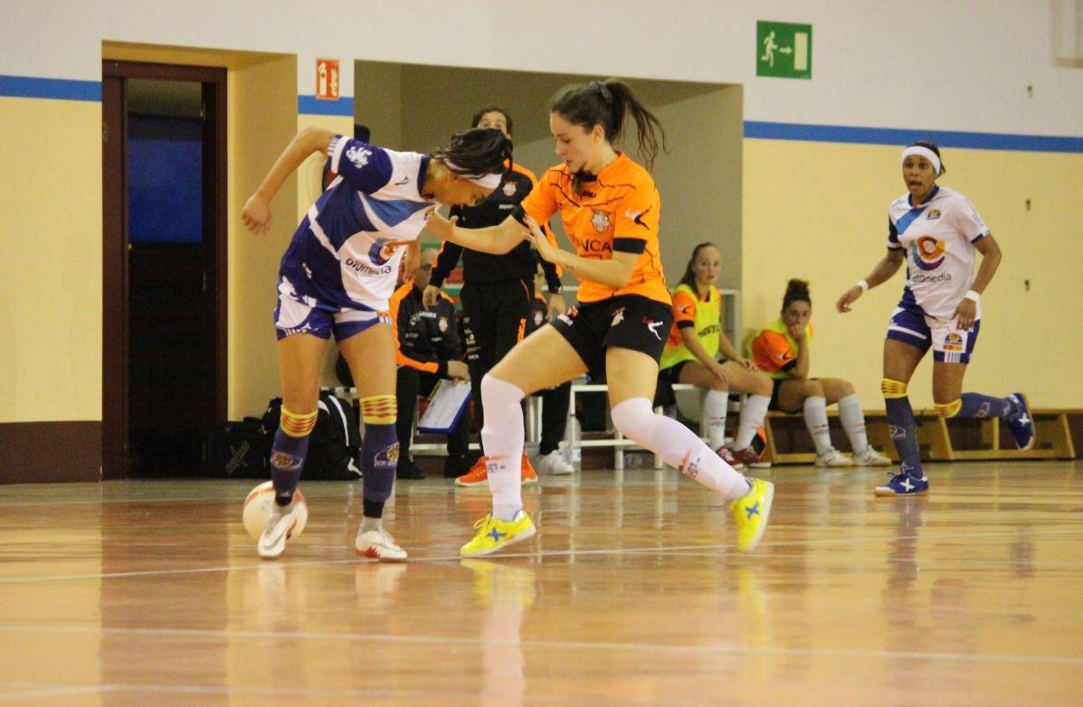 El Viaxes Amarelle FSF sigue pagando muy caro sus errores, y cede una goleada en casa frente al UCAM ElPozo Murcia FSF (2-8)