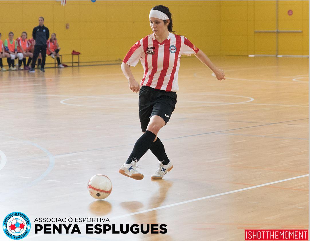 """Cèlia Catà (Jugadora de A.E. Penya Esplugues): """"Nos espera un tramo final de liga complicado pero jugaremos nuestras cartas"""""""