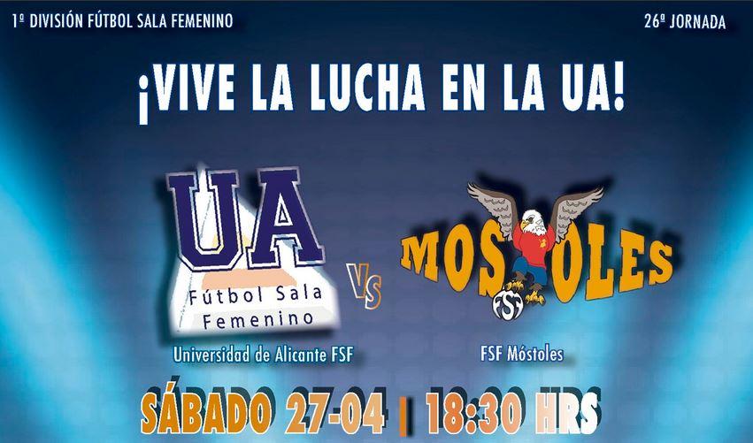Emisión en Directo: Universidad de Alicante FSF - FSF Móstoles. Jornada 26