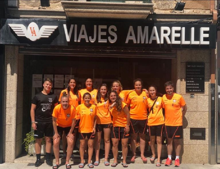 El Viaxes Amarelle FSF se adelantó y puso en apuros al Ourense Envialia FSF