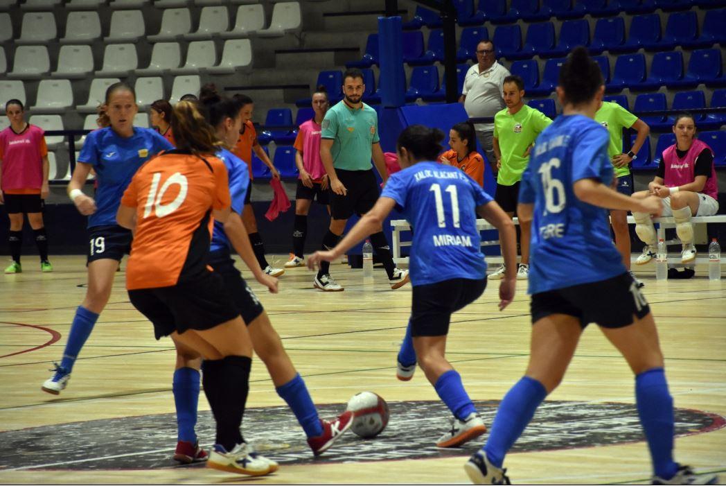 El Xaloc Alacant empata con el Roldán en su primer partido de pretemporada