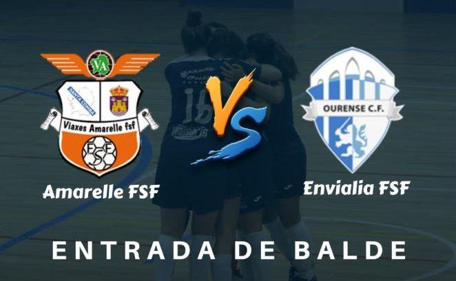 Duelo de altura para el Viaxes Amarelle FSF frente al Ourense Envialia FSF, en el amistoso del 15º aniversario del FC Meigas
