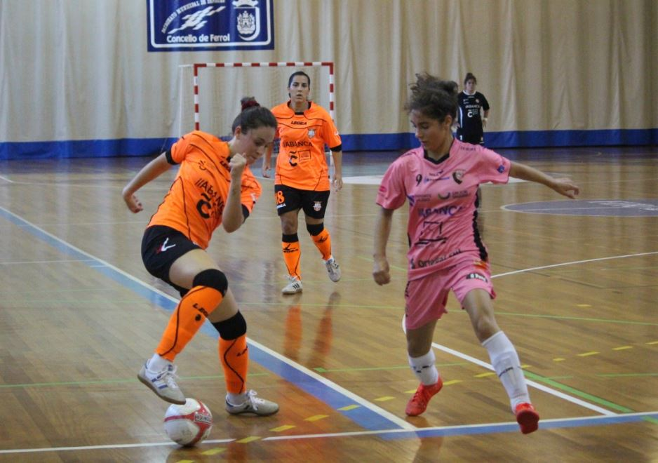 Crónica: Comarcal A Fervenza FSF - Viaxes Amarelle FSF. Jornada 16ª. 2ª División de Fútbol Sala Femenino. Grupo 1º