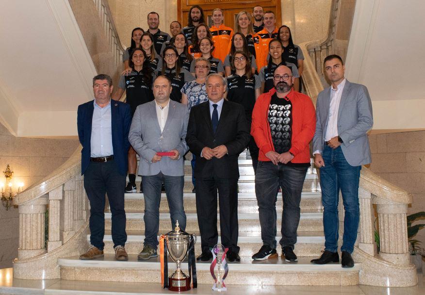 Recepción a las Supercampeonas en la Diputación de Lugo