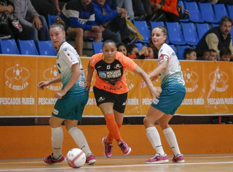 Previa: STV Roldán - Pescados Rubén Burela. Jornada 22ª. 1ª Div. Fútbol Sala Femenino