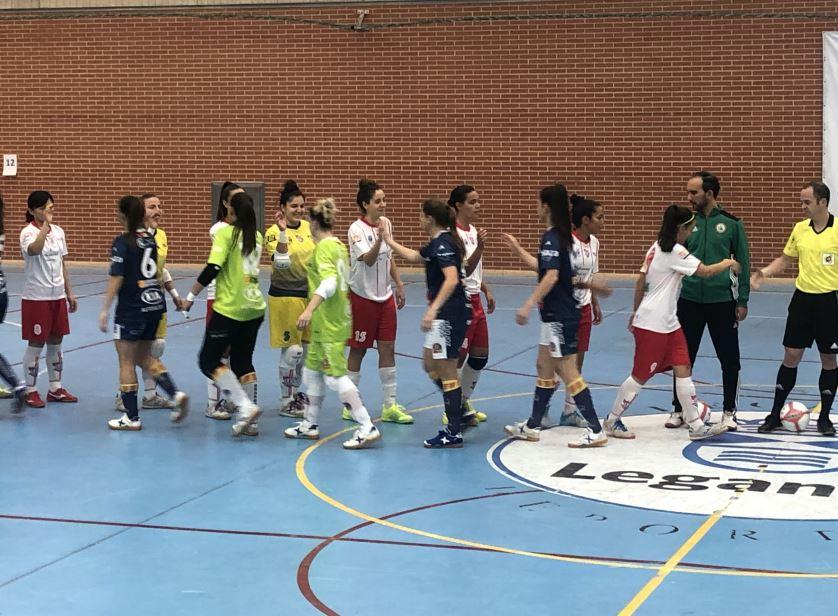 Crónica: CD Leganés FS / Sala Zaragoza. Jornada 3ª. 1ª División Fútbol Sala Femenino