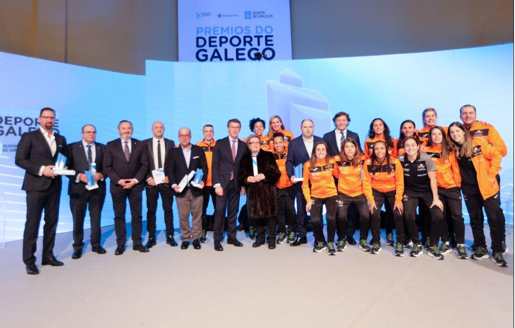 """Pescados Rubén Burela """"Mejor Equipo Femenino 2018"""""""